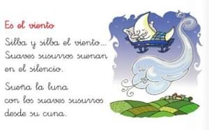 Poesías para niños de primaria largas