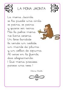 Poesías para niños de cuarto