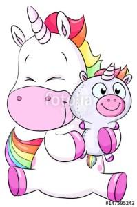 Dibujos de unicornios monos