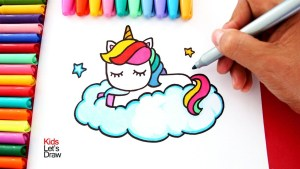 unicornio kawaii