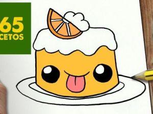 Dibujos kawaii comida