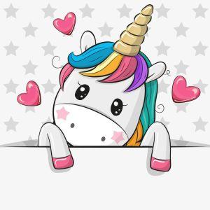 Cómo dibujar un unicornio kawaii