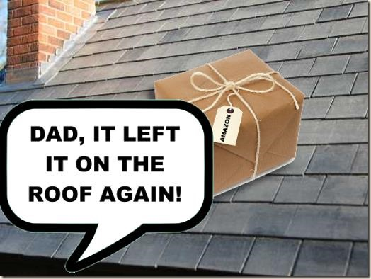It's on the roof again