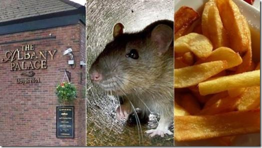 A pub, a rat, and some chips