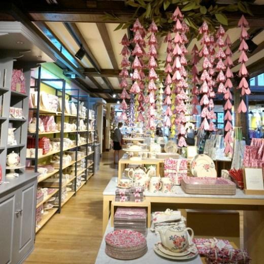 Liberty of London fabric shopping