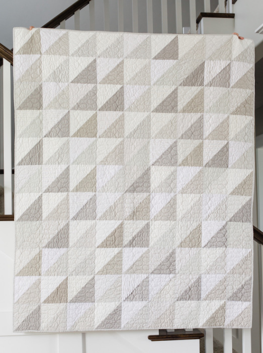 Modern gray and white neutrals quilt diary of a quilter for Modern neutrals palette