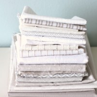 Modern gray and white neutrals quilt