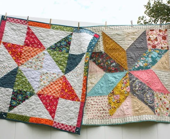 star baby quilt tutorials