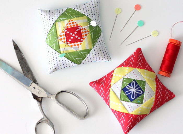 Good Neighbors pin cushion party