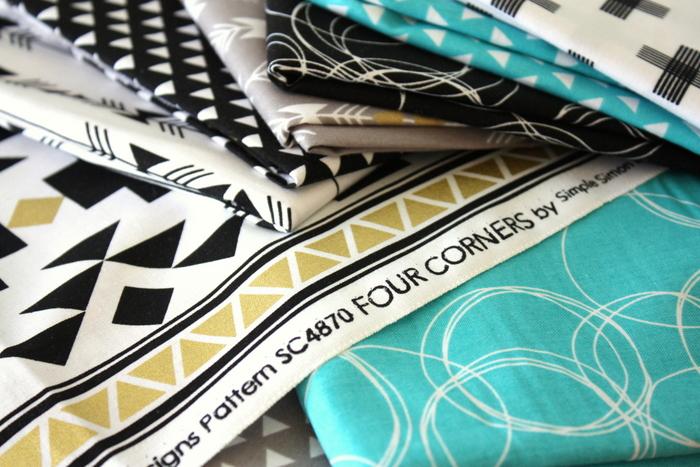 Four Corners Simple Simon Fabric