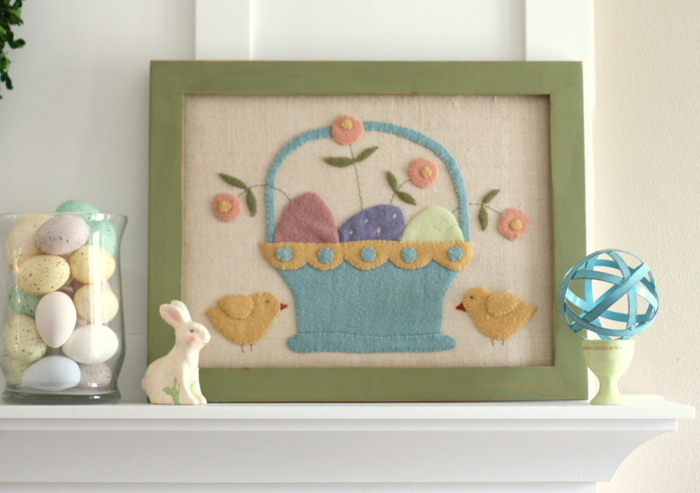 Wool Easter picture