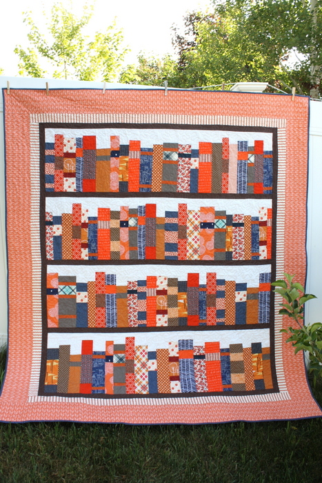 Library Books quilt