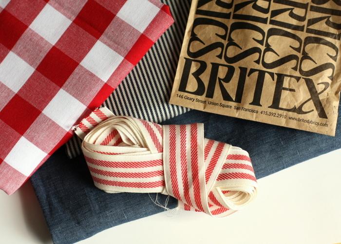 Britex purchases