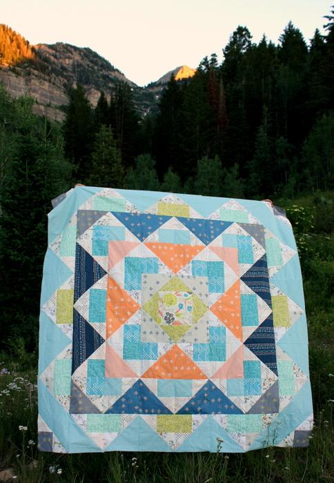 Palisades Quilt Top by Amy Smart for Fat Quarter Shop