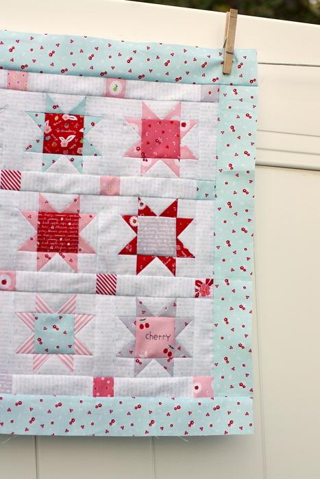 Sweet orchard Riley Blake mini Quilt