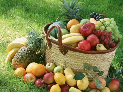 Frutas são essenciais na recuperação.