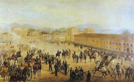 Golpe militar liderado por Deodoro da Fonseca