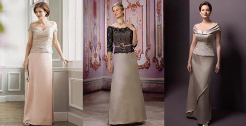 Modelos de vestidos para a mãe da noiva.