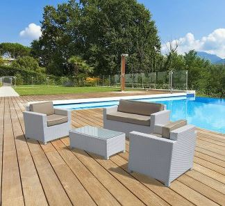White Rattan Furniture