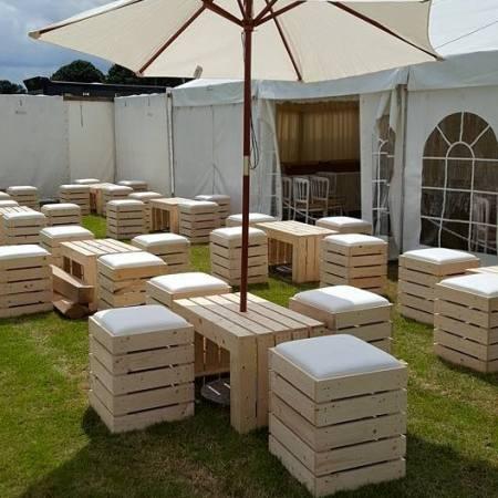 Crate Furniture Hire