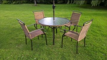 Rattan Furniture Dining Set