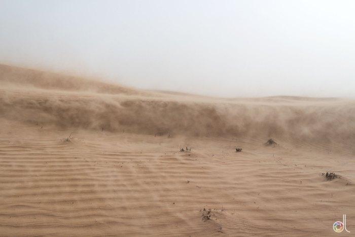 Dubai - Désert - Tempête de Sable