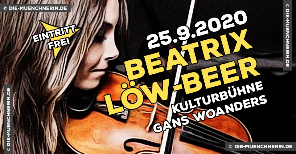 Beatrix Löw-Beer im Kulturcafé Gans Woanders
