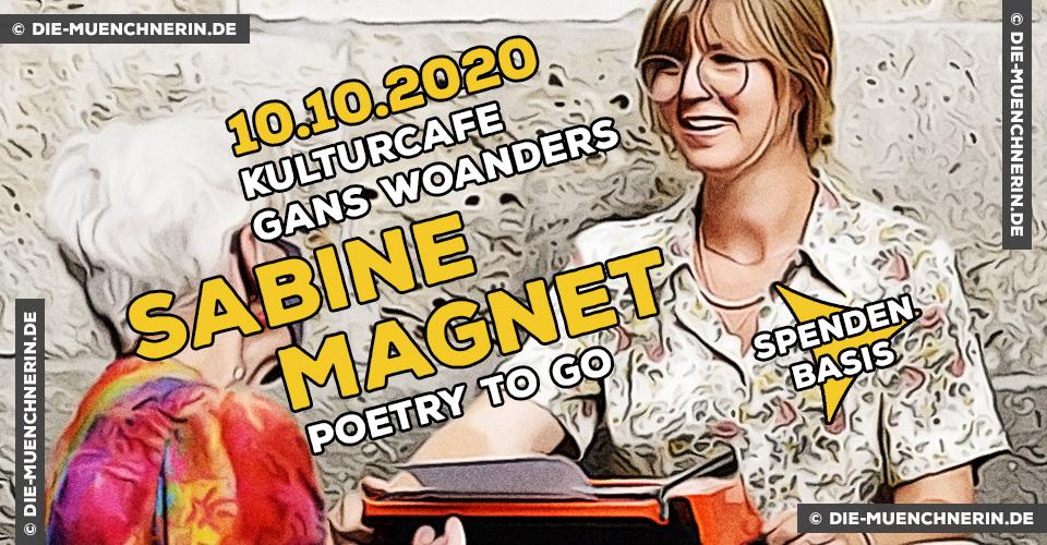 Sabine Magnet - Poetry to go - Gans Woanders