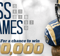 St. Louis Rams Guess 100K