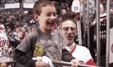 Jordon Tootoo Little Kid Day