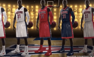 arizona bball jerseys