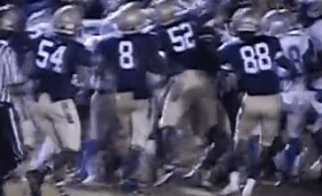 high school  football brawl