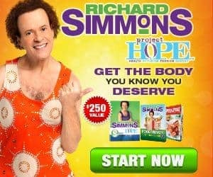 Project HOPE is Richard Simmons Newest and Effective Weight Loss System