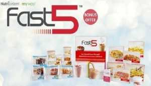 Nutrisystem Fast Five Free New Weight Loss Kit