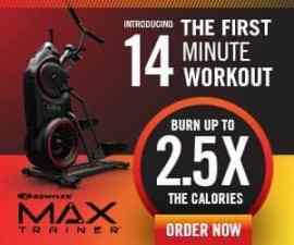 Bowflex Max Trainer Elliptical Stepper M5 and…