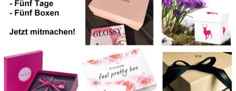 – Fünf Tage – Fünf Beauty Boxen Gewinnspiel –
