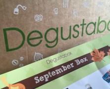 Die Degustabox September – unboxing!