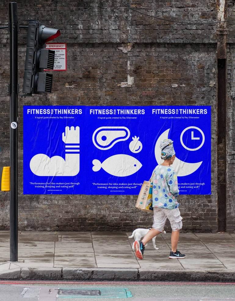 Diferente_FitnessForThinkers_Posters_Bridge