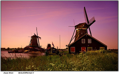 Holland, Amsterdam surrounding by Moyan_Brenn
