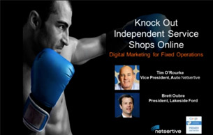 Fixed Operations: Knock Out Independent Service Shops Online