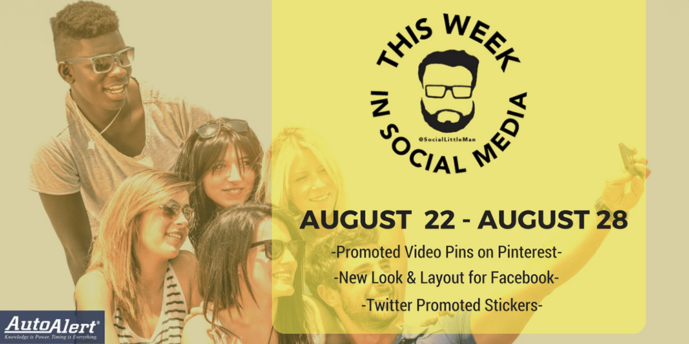 This Week in Social Media News: Week of August 22, 2016