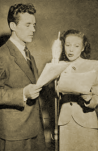 Howard Duff as Spade and Lurene Tuttle as Effie Perrine