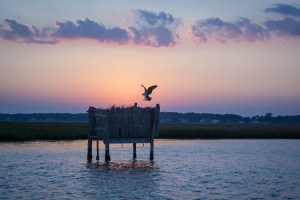 Sunset on Chincoteague