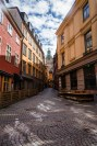 The oldest part of Stockholm, Gamla Stan is filled with tiny, cobble-stoned streets.