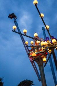 Rides at Tivoli Gardens