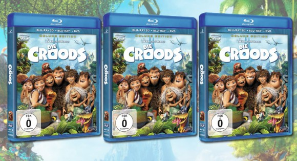 Croods Blu-ray 3D Deluxe-Edition