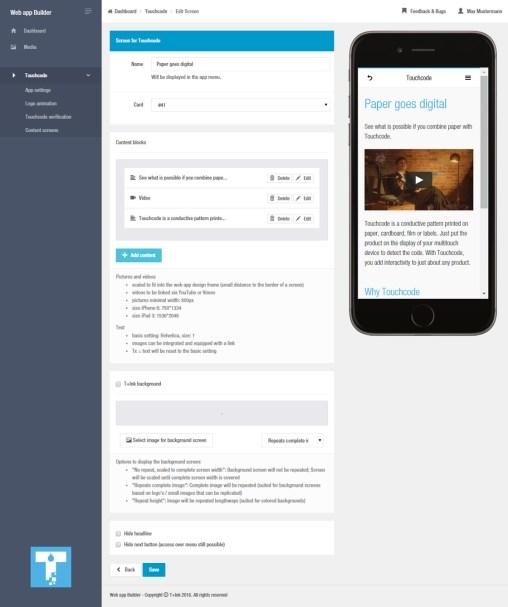 touchcode-webapp-builder
