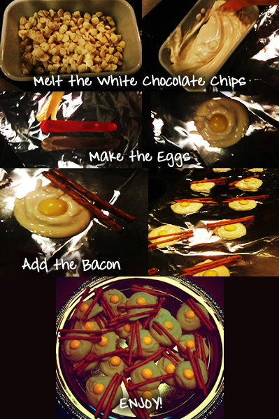 how to make bacon and eggs