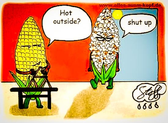 It's HOT Outside