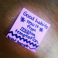 Good Habits on today's daily inspire